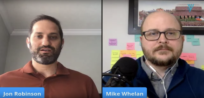 Liticast with Mike Whelan
