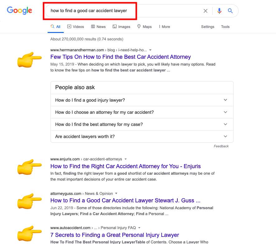 how to serp
